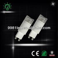 ceramic 2.5W halogen lamp replacement led g9 light