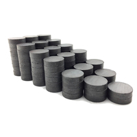 "China supplier Free samples powerful 1.26"" Disc ceramic ferrite magnets"