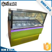 China Manufacturer Showcase Freezer Display For Ice Cream