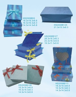 ODM and OEM Europe type Paper gift box or gift bag Paper