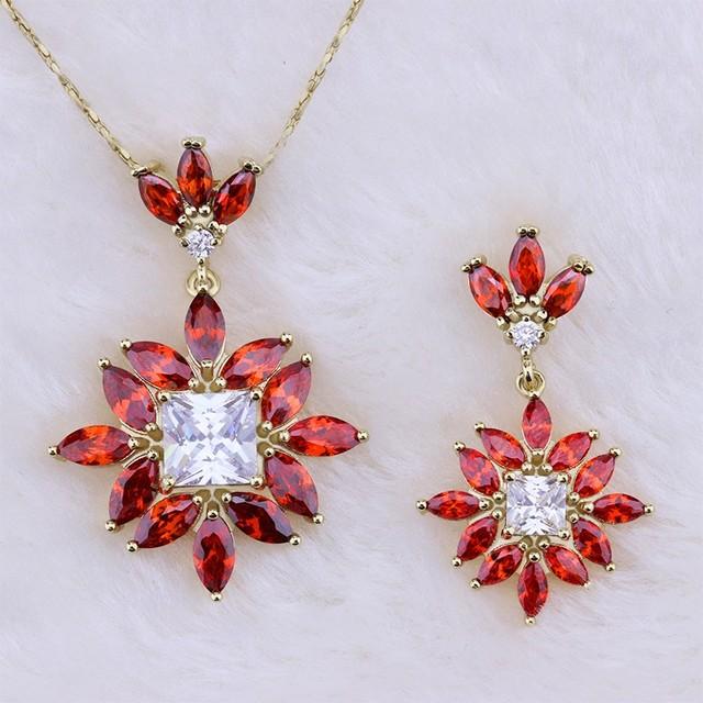 2feeb32761e2 2017 de moda 18 K chapado en oro collar de diamantes de imitación de  joyería de