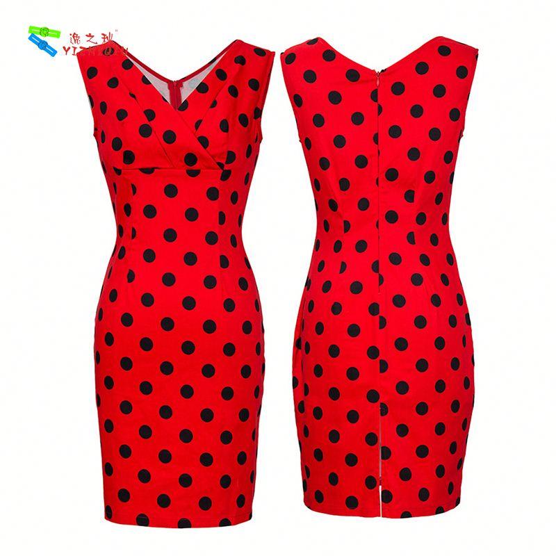 YIZHIQIU vintage dress print dress summer dress for mature woman