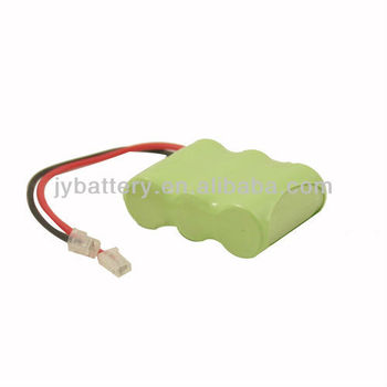 Nimh Rechargeable Battery Pack 3.6v 2/3aa 650mah