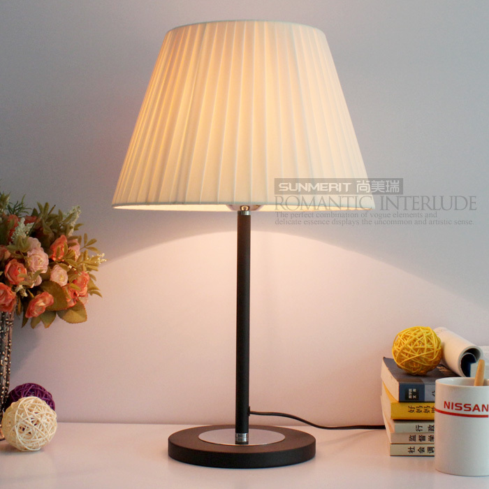 Buy (220V) NEW Modern Bedside Cheap Table Lamp Bedroom