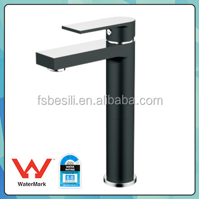 Top sale bathroom taps with chrome plated,matt black coating bathroom basin faucet 1459CB