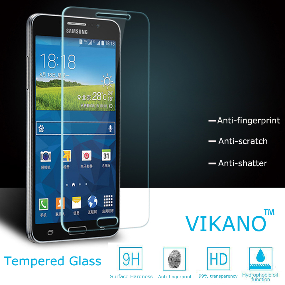 Tempered Glass Screen Protector For Samsung Galaxy Note 3 Neo N7505 Delcell Carbon Casing