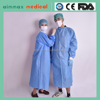 medical deposable surgical gown/long sleeve wedding gowns/cheap disposable medical gowns