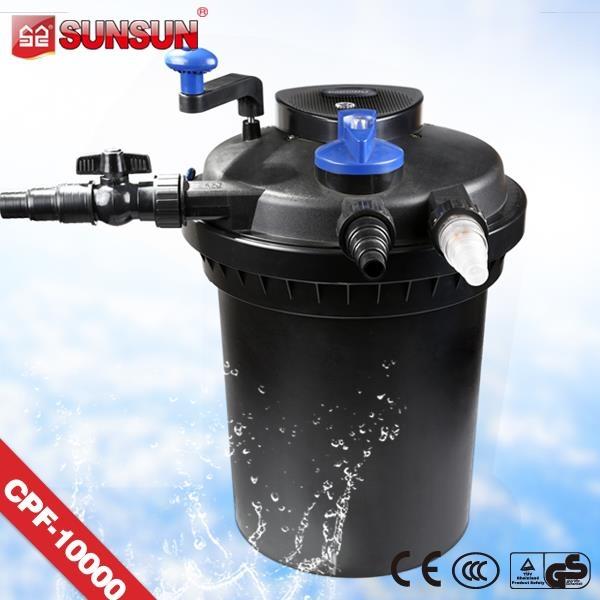Hoge kwaliteit sunsun filterbus voor koi vijver filter for Filter voor vijver