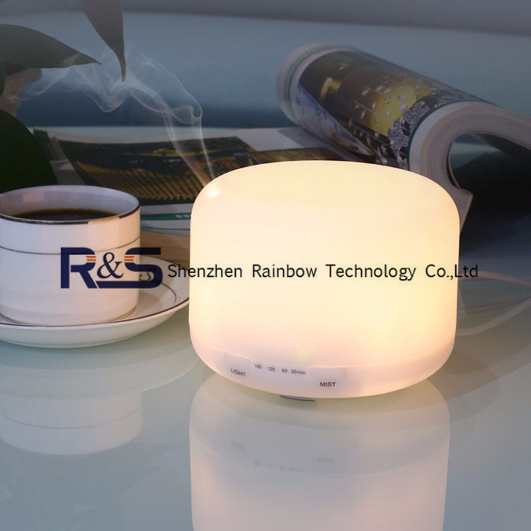 LED Color Changing Ultrasonic Aroma Oil Diffuser Private Label for Home Office