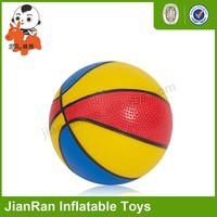 Inflatable PVC toy basketball for kids