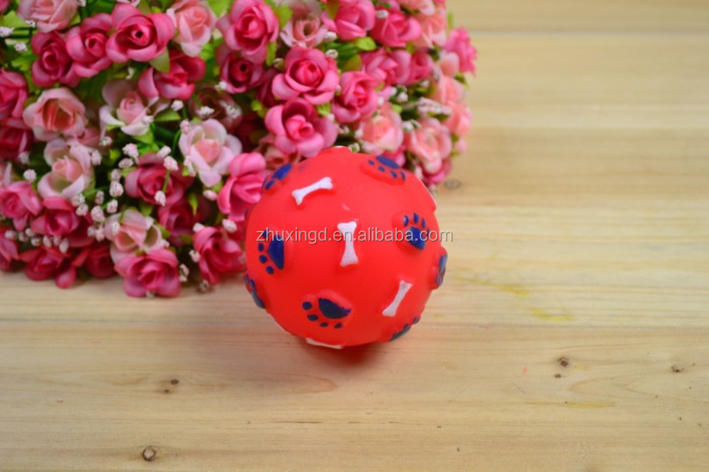 Custom dog toys rubber, ball for dogs, dog toy wholesale