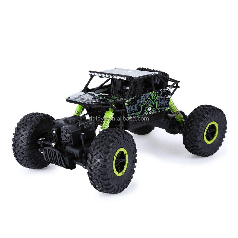 2,4 Ghz Radio Control Rc Rock Crawler 4wd Coche Camión Vehículo Off ...