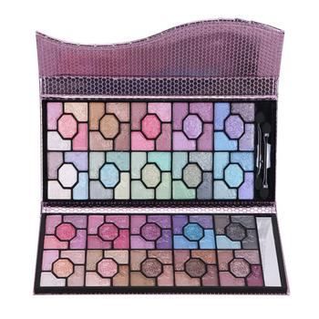 Complete bridal makeup kit 100 colors eye shadow palette waterproof 100 color eyeshadow palette