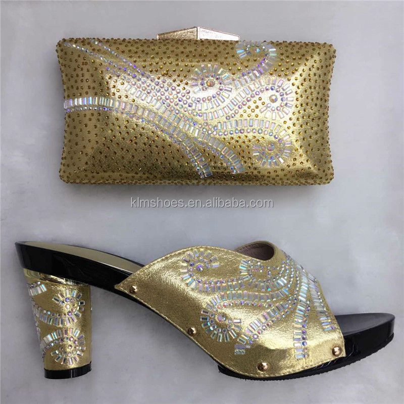 Stones With And Shoes With Bags Wedding To Matching Bag Italian Nigeria 36 Latest Fashion TT16 Women Match Shoes RqnwvtUxZx