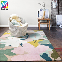 Elegant Modern Decorative Hand Tufted Customized Area Rugs And Carpets