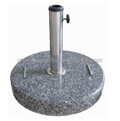 Round Granite Parasol/Umbrella bases