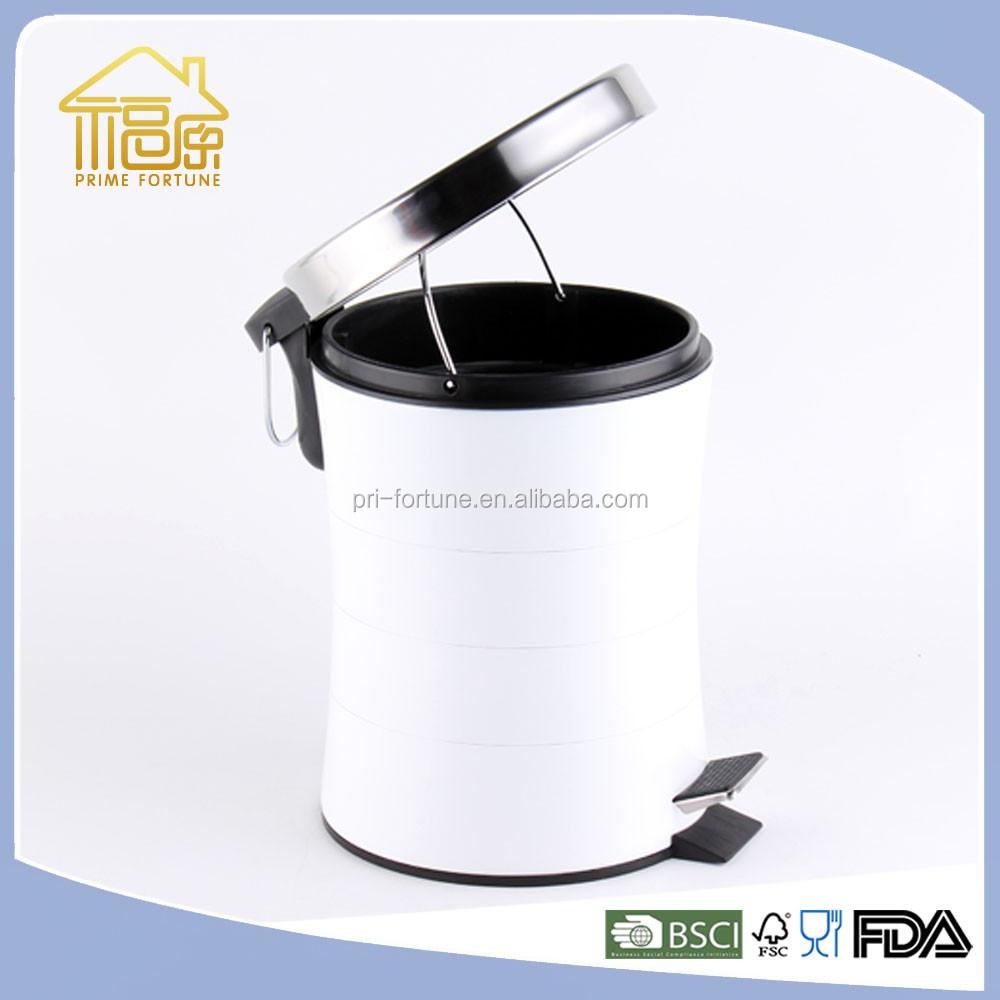 Moderne Mülleimer schlanke form fußpedal abfallbehälter container dekorative mülleimer