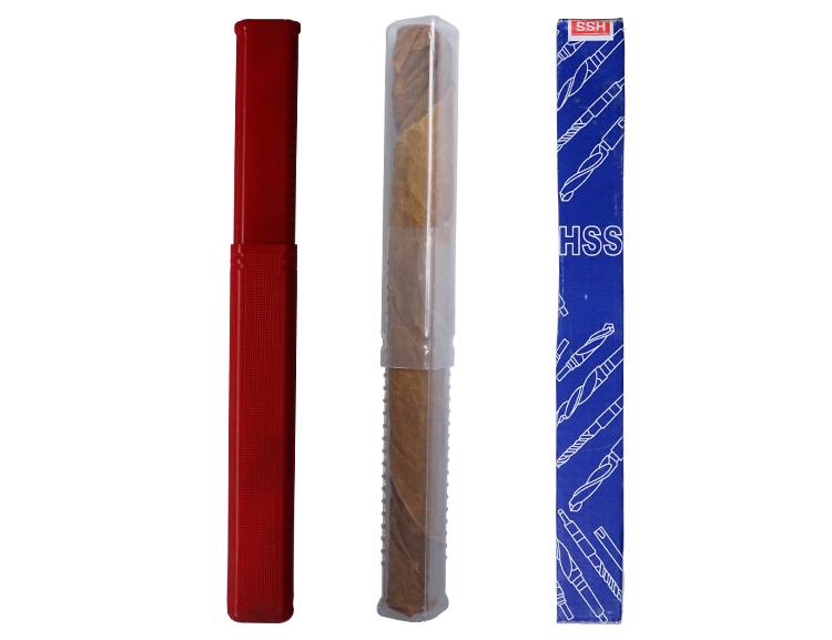Black Finish Milled DIN345 HSS Morse Taper Shank Twist Drill Bit for Metal