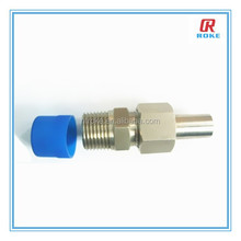 "1/2"" male threaded oil&gas stainless steel tube adapter"
