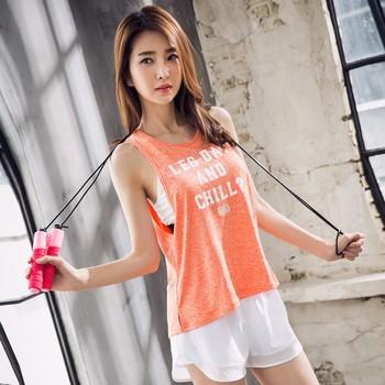11446eba2f Women's Open Back Yoga Tank Sleeveless Off Shoulder Workout T Shirt  Backless Crop Tops Workout Clothes