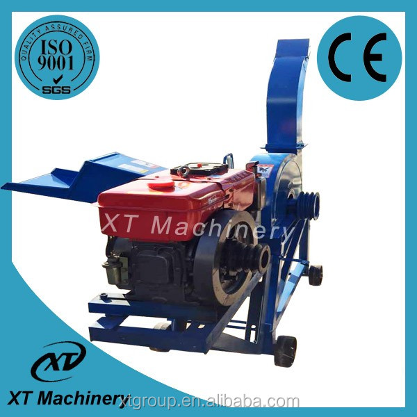 Corn Straw Stalk Chaff Cutter/Stalk Shredder/Silage Chaff Cutter