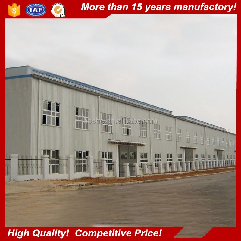 Prefabricated commercial building / Steel ware house building