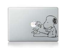 shenzhen hot sale 3d laptop skins cute snoopy decal sticker for macbook 13.3 skin