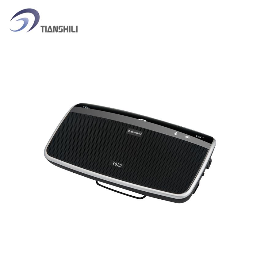 2015 автоэлектрика аксессуары беспроводная связь Bluetooth автомобильный комплект спикер солнцезащитный козырек клип привод обсуждение для смартфонов громкой T822-2