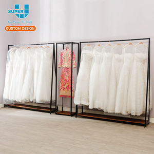 Custom Boutique Store Display Stand For Wedding Dress Metal Wedding Dress Display Stands