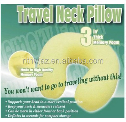 travel pillow neck memory foam