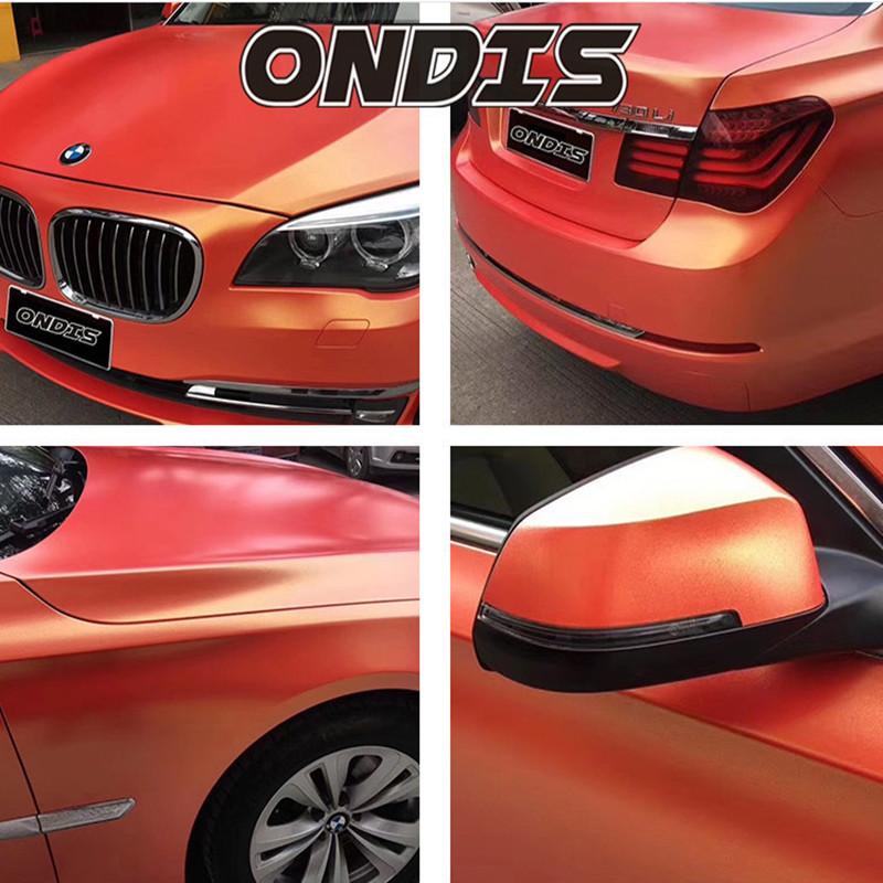 New Arrivals 1.52*18m Air Release Gold sand Diamond glitter PVC Film for Car Wrap Vinyl