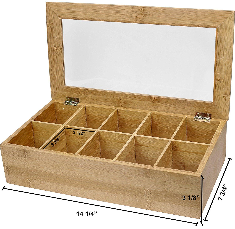 High Quality Tea Packaging Bamboo Box 3