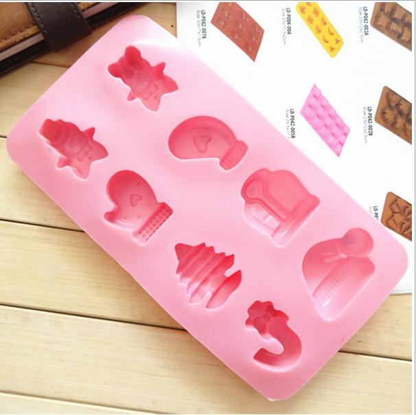 custom fox shape silicone popsicle bake/ cake mold