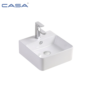 Porcelain Sanitary Wares Ceramic One Faucet Bathroom Mini Vessel Sink