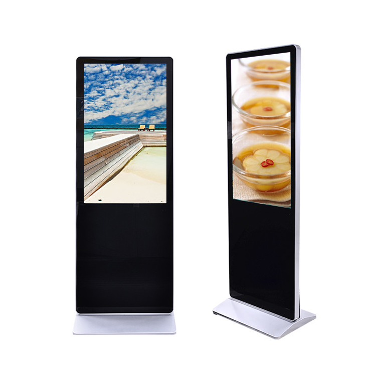 Innen Stand Touchscreen Totem Lcd Werbung Display