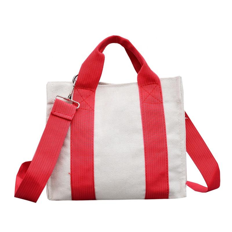 Ins Women Book Tote Blank Canvas Shoulder Messenger Bags Wholesale ... ac7c400e6