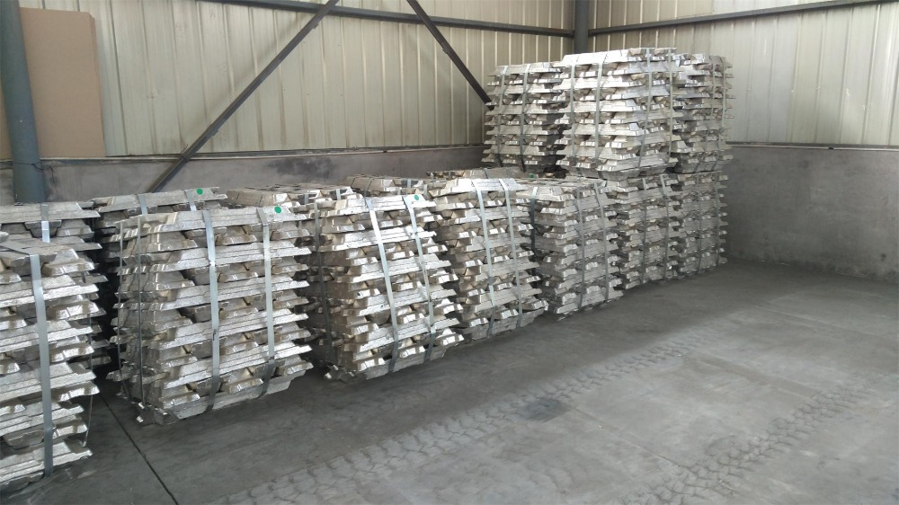 high specification and good quality aluminum ingot 99.7% a322