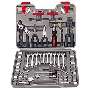Precision Apollo 95 Piece Mechanics Tool Kit Car Auto Emergency Repair New (item_by#malinboy ,ket95111999666145