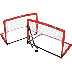 c280c811d5a Get Quotations · PRIMED Pop-Up Knee Hockey Goal Set