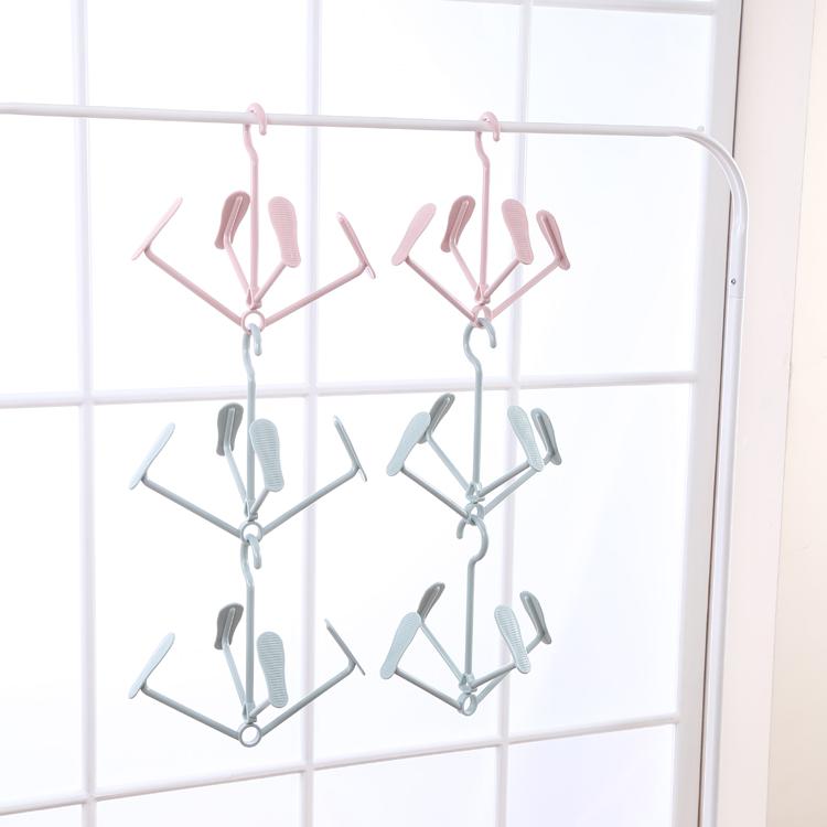 New arrival adjustable plastic shoes hanger clothes hanger