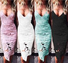 New Style Ladies Clothing Summer Lace Dress Women Fashion Dress