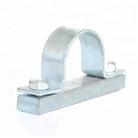 Heavy Duty Flat Steel Tubing Clamp Pipe Clamp Saddle Clamp