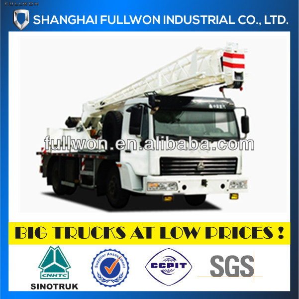 SINO 2014 USED TRUCK CRANES 10 TON FOR SALE