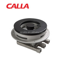 gas cooker burner with ceramic brass cap