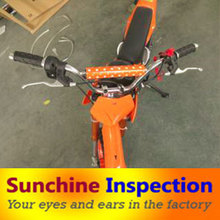 Supply Mini Motorcycle initial production check (IPC) & Electronic Bikers quality control agent & automobiles quality inspect