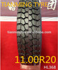 Wholesale high quality being all steel radial truck tire 11.00R20 Mexican market looking for distributors 1100R20
