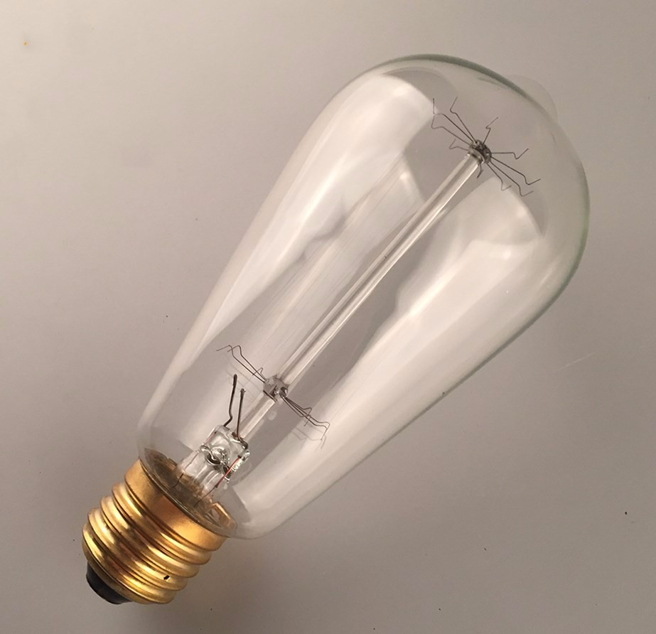 China Manufacturer Decorative Tungsten Filament E27 Vintage Edison Light Bulb 40w St64 Buy