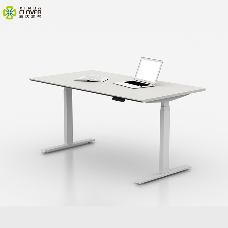 Office desktop computer desk modern stand up desk with height adjustable