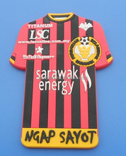 personalise football jersey fridge magnet sarawak energy