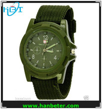 Fashion Swiss Gemius Army watch Nylon Band Wrist Watch